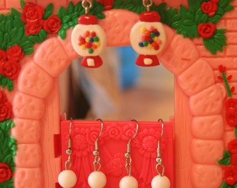 Gumball earrings (pick your choice)