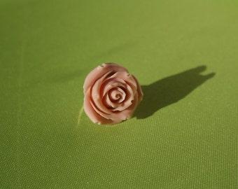 Creamy Pink Rose ring