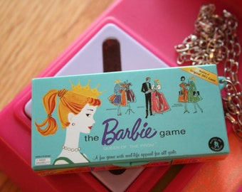 Barbie monopoly game necklace