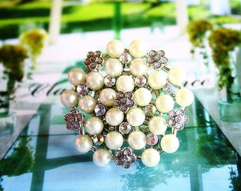 Bubble bouquet ring