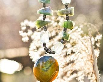 Rocky road Stones necklace