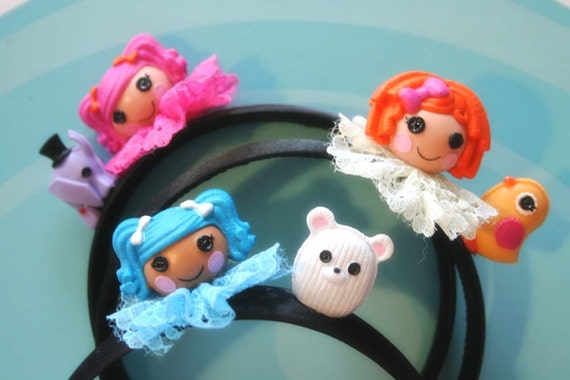 Lalaloopsy  Doll headband (pick 1)
