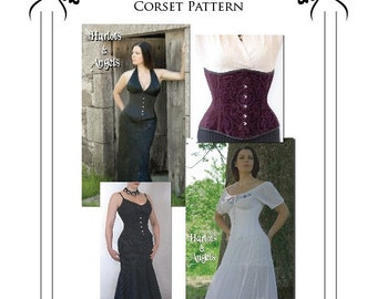 Victorian Underbust Corset Sewing Pattern Small (UBPS)