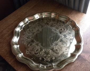 Vintage Baldwin Brass Tray