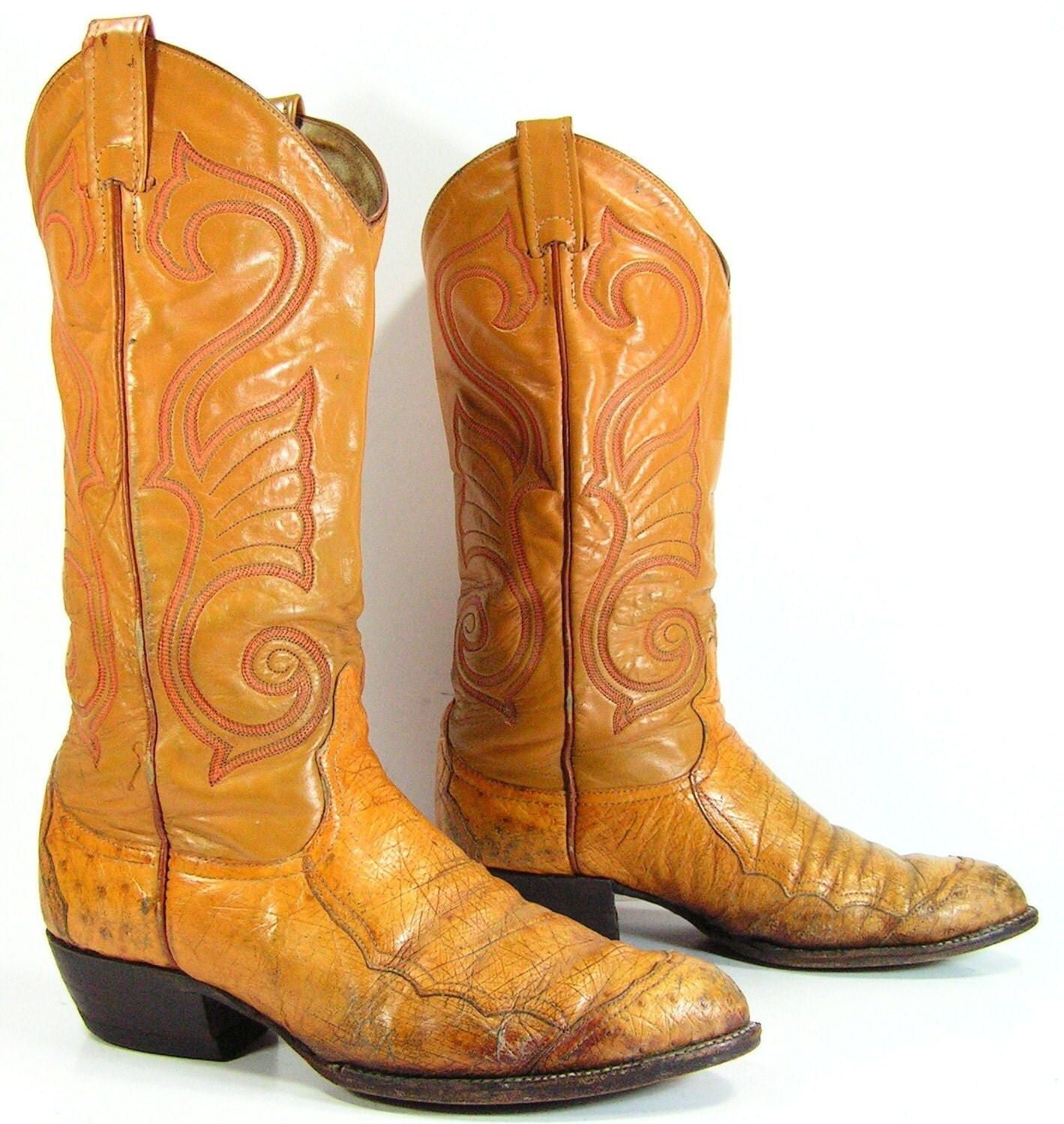 Innovative Vintage Cowboy Boots. Womenu0026#39;s Western Boots. 7.5