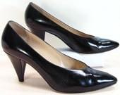 bruno magli stilettos 10 B M pumps womens shoes black high heels formal ladies