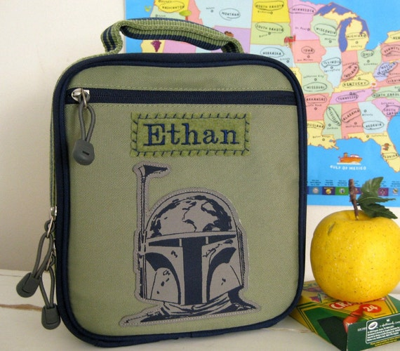 Personalized Kids Lunch Box Star Wars Upcycled By