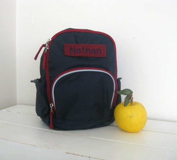Personalized Toddler Backpack Pottery Barn Mini By