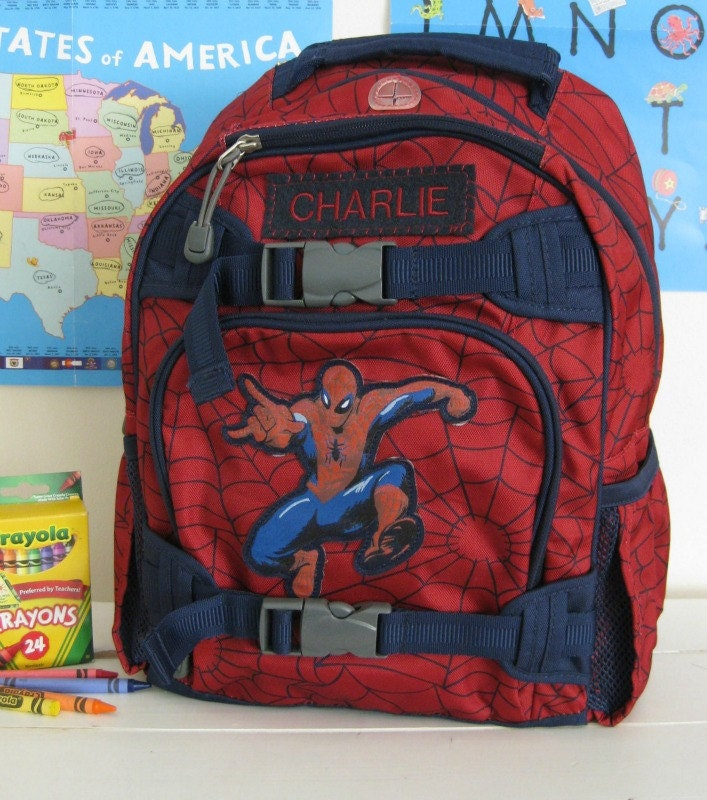 Backpack With Monogram Small Size Spider Man