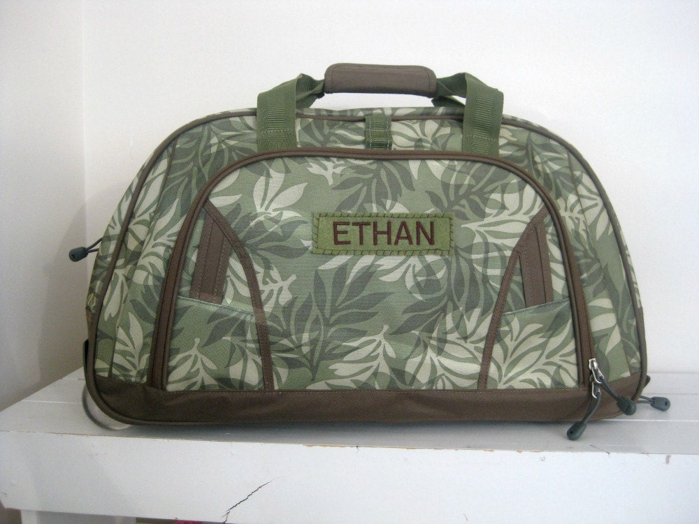 Personalized Kid S Rolling Duffle Bag Large Size