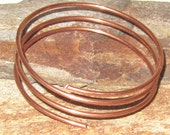 8 gauge solid copper wire - bookmarks purse and handbag strap loops clothing dresses findings etc