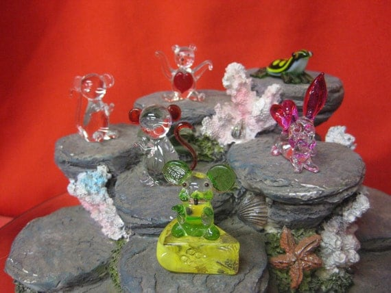 Glass miniatures