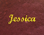 Mineral Makeup Brow Powder...JESSICA...Rich Burgundy Eye Brow Powder for Dramatic Eye Brows for Red Heads. Vegan. 5g.
