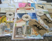 Grunge Pack (40)- Vintage paper ephemera lot