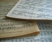 Music Paper Pack (50) Lot- Paper Ephemera Vintage Music paper pack