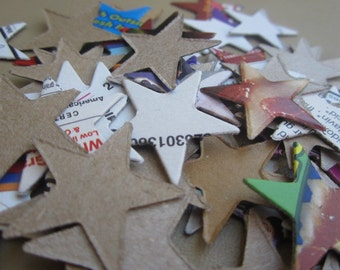 50 Recycled Stars- 1in