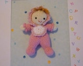 Crochet pattern Baby Doll