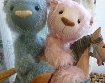 Inky and Pinky Pattern from Luvly Bears.