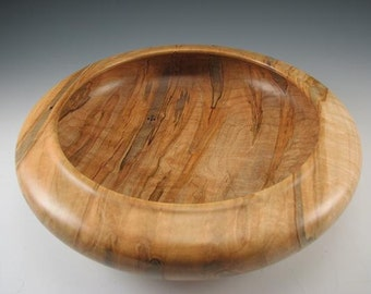 Wood Bowl - Woodturning - Wood Dish - Home Decor - Mothers Day Gift - Ambrosia Maple -  Office Decor