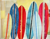 Surf Boards at the Surf Shop