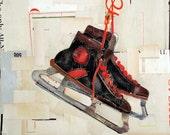 Danny O Studio Vintage Black Mens Hockey Skates