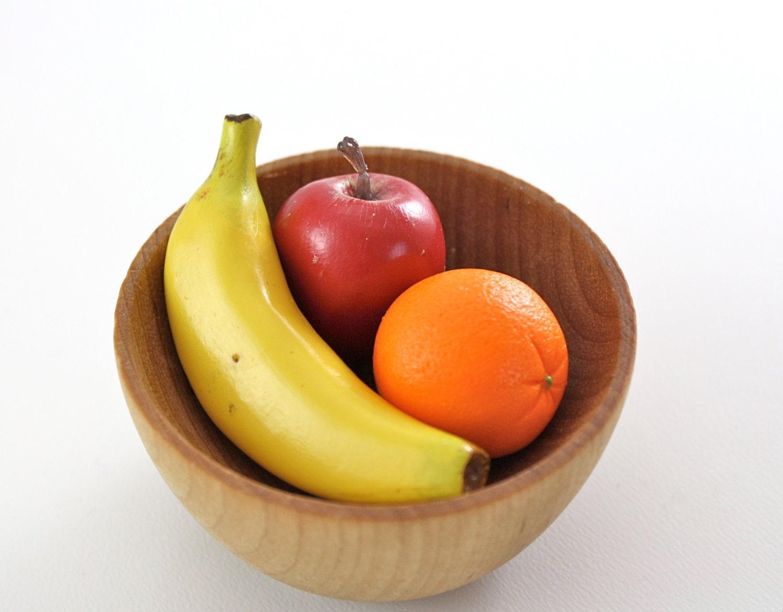 Red Apple Banana Orange Fruit Food for American Girl by pippaloo