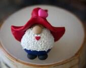 Mr. Kissy Face Valentine Gnome