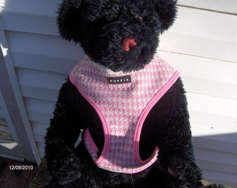 PUPPIA luxury dog harness XL-PINK-on sale