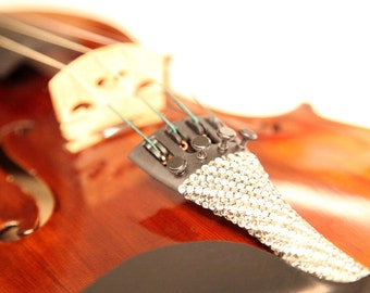 "Swarovski Crystal Violin Tailpiece - ""The Luxe"""