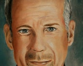 Bruce Willis Oil Painting by