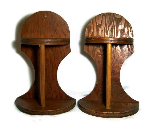 Vintage Display Shelves Rustic Primitive Decor Set of Two