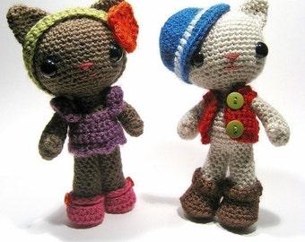 Huey and Tara crochet patterns (both patterns)