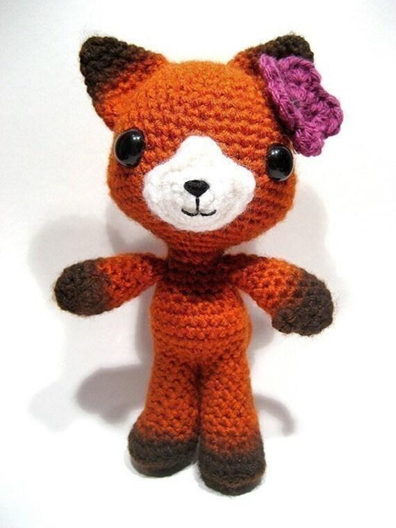 Felicity the fox crochet pattern
