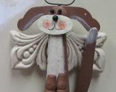OOAK Holidays Angel Wing Doggie KitcheN MaGnet