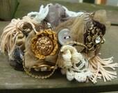 Tres Chic Vintage Collage Bracelet
