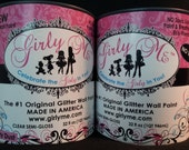 Gilry Me Glitter Wall Paint in FAIRY DUST - 2 can of Glitter Paint for Walls, Baby Room, Childrens Room, Boys and Girls