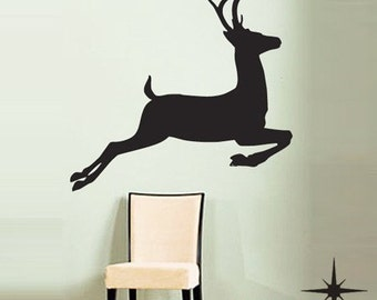 Deer Hunting----Removable Graphic Art wall decals stickers home decor