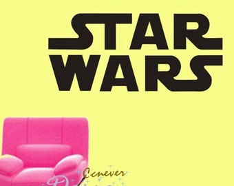 STAR WARS----Removable Graphic Art wall decals stickers home decor
