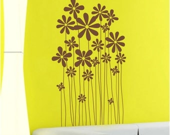 Abstract  Sunflowers 36inch----Removable Graphic Art wall decals stickers home decor