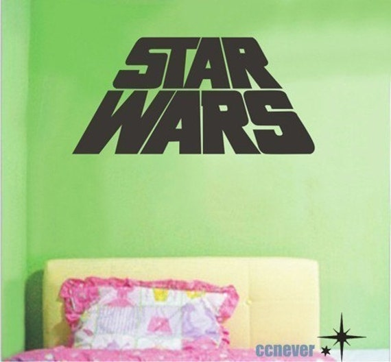 STAR WARS kids nursery----Removable Graphic Art wall decals stickers home decor