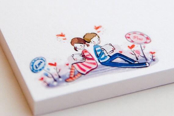 Sticky Notes - Love Post