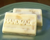 White Ginger and Amber Goats Milk Soap