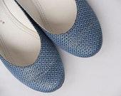 Eco shoes women shoes flat shoes wedding shoes vegan shoes green shoes