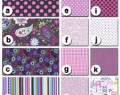 Custom Crib Bedding You Design-Bumper and Bedskirt- Paisley Spree