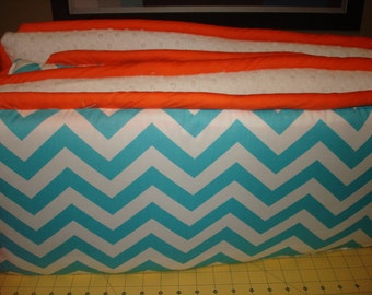 Custom Crib Bumper