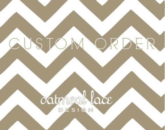 custom order for erin m