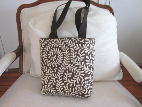 SALE  Brown and white batik design