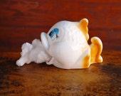 Ceramic Fish, Cotton Ball Holder