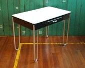 Enamel Top Dinette Table, Classic Midcentury Furniture