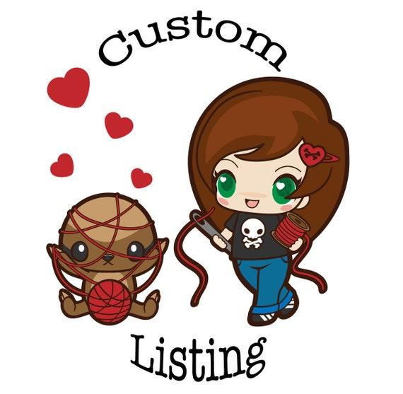 Custom Listing for Ruth